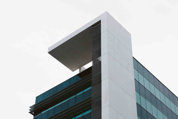 Fassade zeitgenoessisch