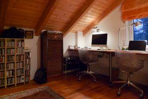 Landhaus-Arbeitszimmer