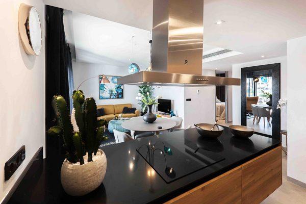Einrichtung staging Prinz Immobilien Wohnküche